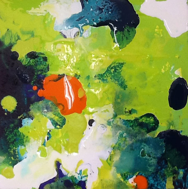 Abstract CITRUS by Christine Donaldson