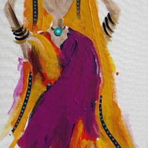 Bollywood #3 by Christine Donaldson