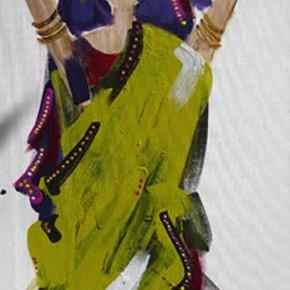 Bollywood #4 by Christine Donaldson