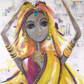 Bollywood #8 by Christine Donaldson