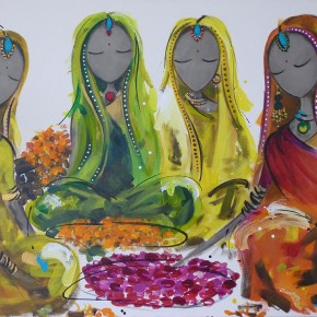 Bollywood Flower Market by Christine Donaldson