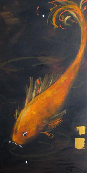 Lily Pond 8 by Christine Donaldson