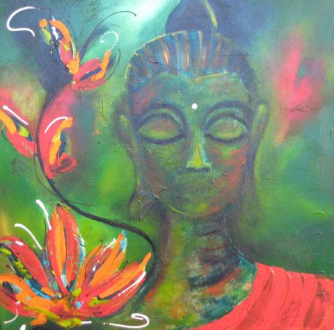 Lotus Garden by Christine Donaldson