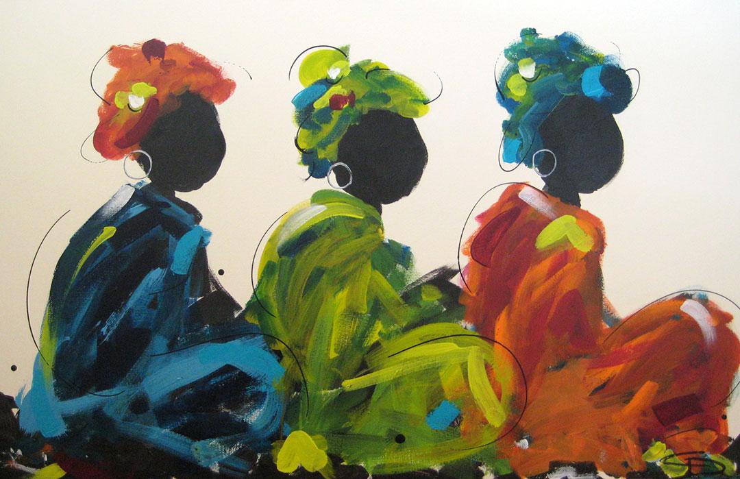 Ubud Markets #11 by Christine Donaldson