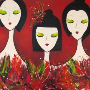 Geisha Garden by Christine Donaldson