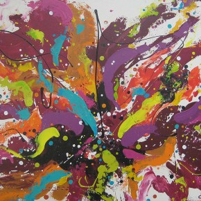 Purple Rain by Christine Donaldson