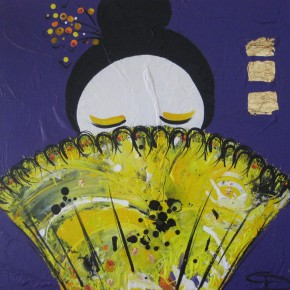 The Yellow Fan by Christine Donaldson